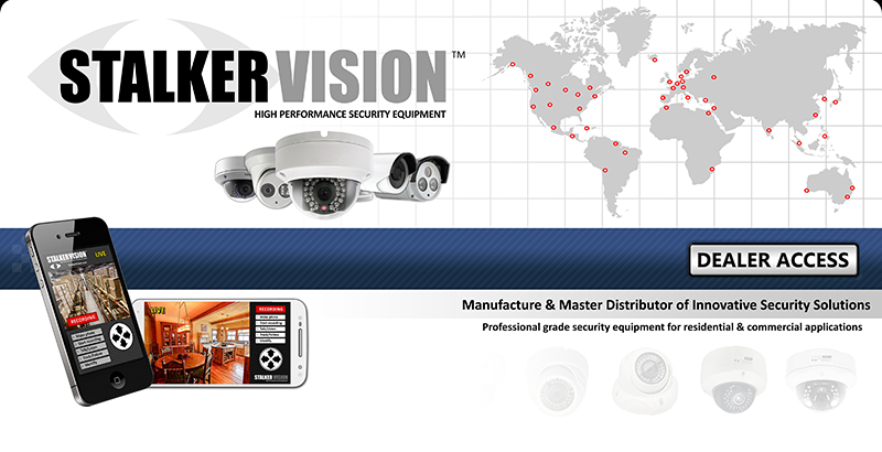Welcome to Stalker Vision™, the Worlds Leading Surveillance Equipment Manufacturer & Distributor