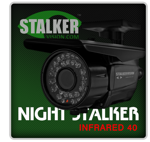 Security cameras that work in the dark!