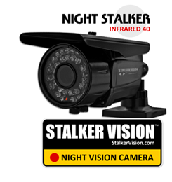 StalkerVision™ infrared night vision security camera / StalkerVision.com